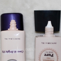 Etude House foundation comparison & new BB Cream review