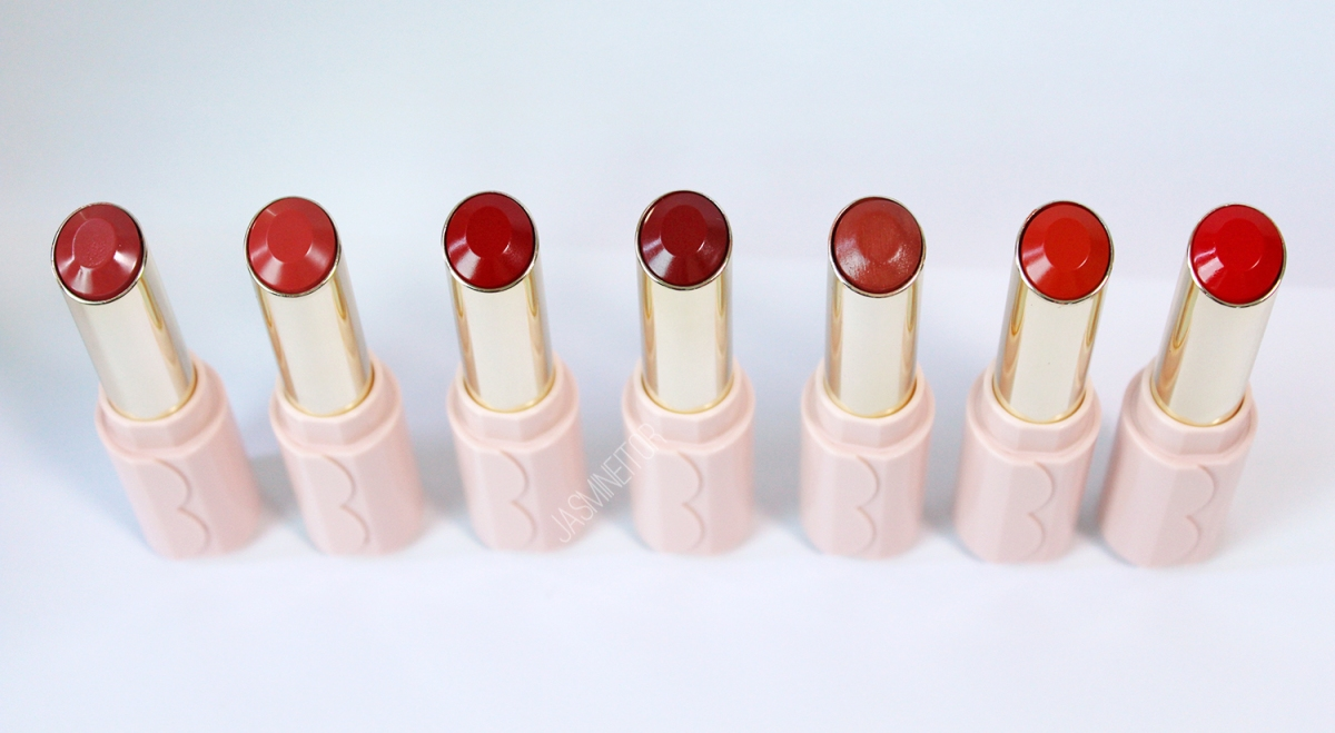 Etude House Dear My Enamel Lips-Talk 7 Colours Swatches & Review